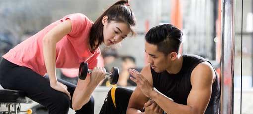 Beruf Fitnesstrainer