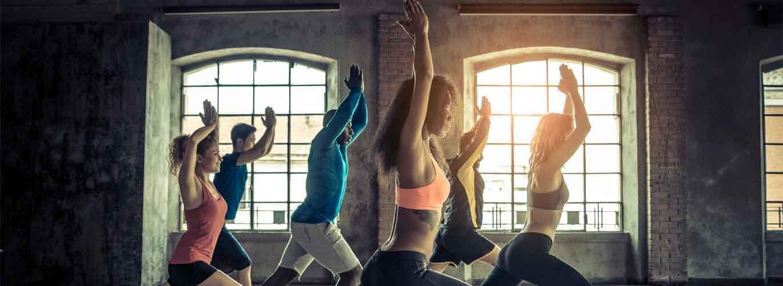 Die C-Lizenz für Fitnesstrainer - Gruppe am Sport machen
