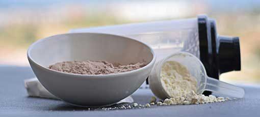 Muskelaufbau mit Nahrungsergänzung