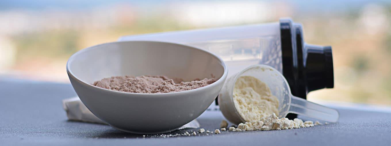 Nahrungsergänzung für den Muskelaufbau