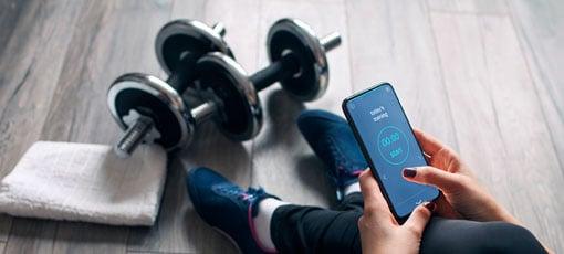 Fitnesscoach Apps dokumentieren und motivieren